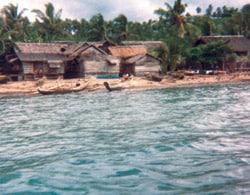 Burabod shoreline