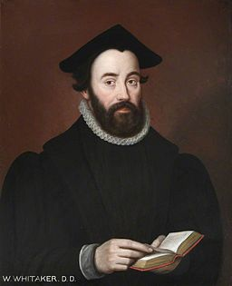 William Whitaker, English theologian, (1548--1595)